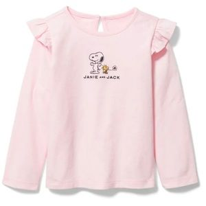 Janie and Jack Snoopy and Woodstock tee